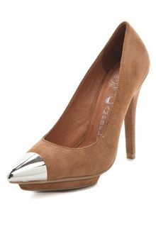 Jeffrey Campbell Bullet Cap Toe Pumps - Lyst