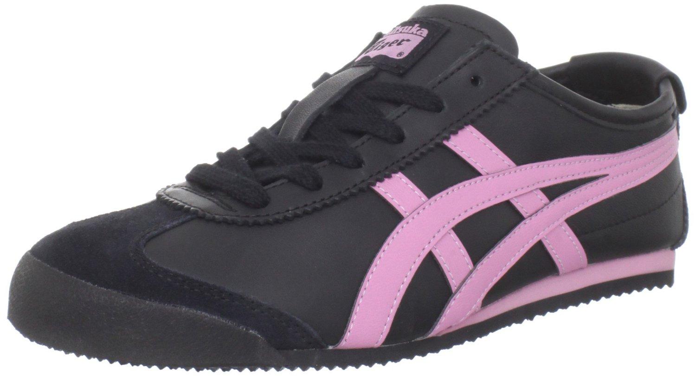 onitsuka tiger onitsuka tiger womens mexico 66 sneaker in pink black rose pink lyst. Black Bedroom Furniture Sets. Home Design Ideas