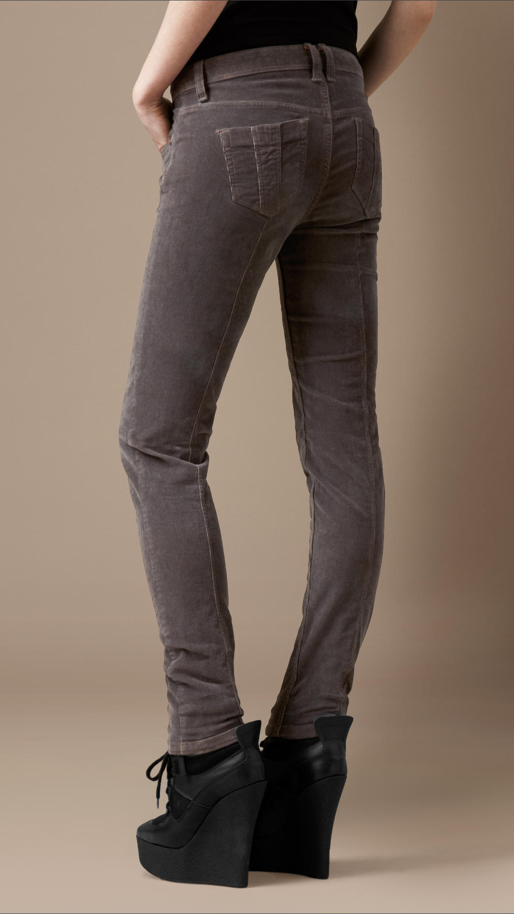 420b48db026d Lyst - Burberry Brit Westbourne Grey Skinny Jeans in Gray