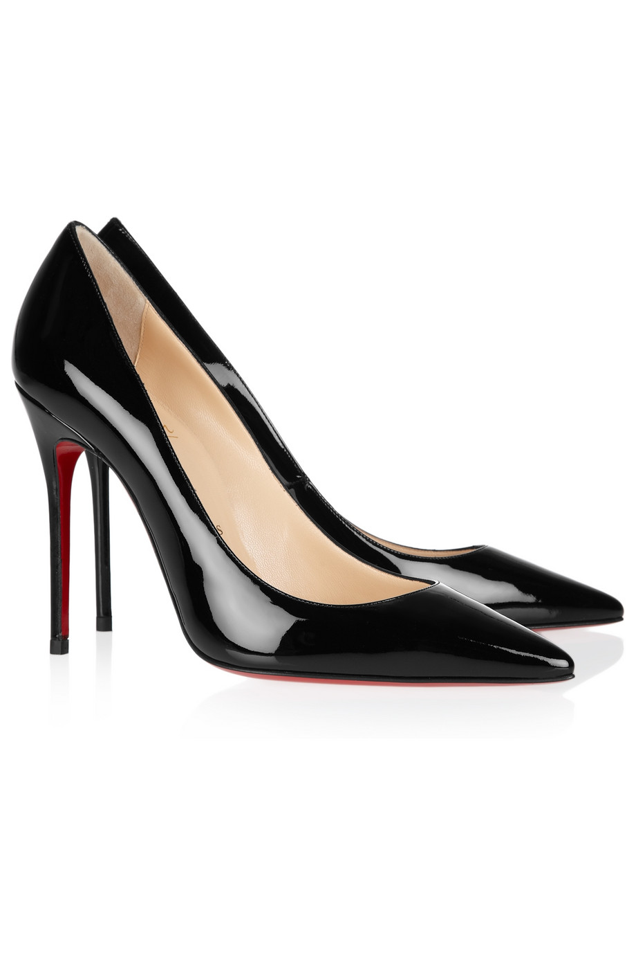 Lyst Christian Louboutin Decollete 100 Patentleather
