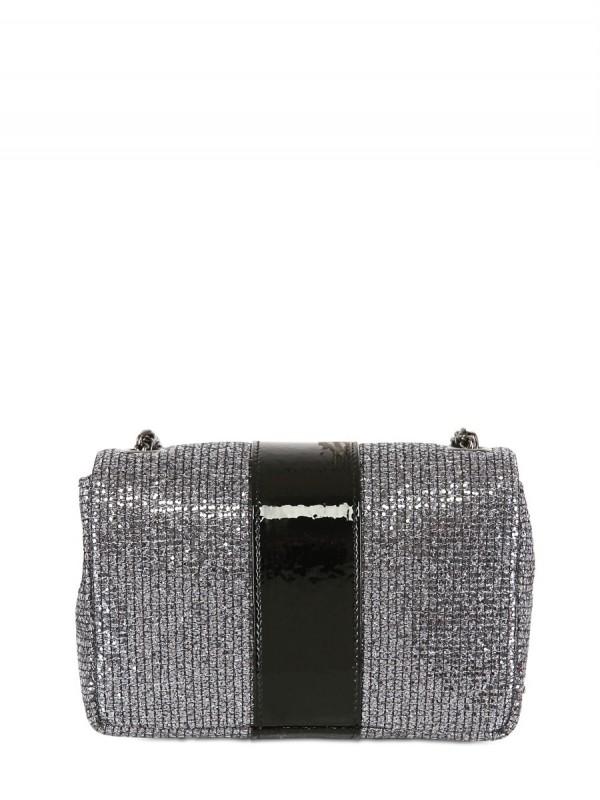 Christian Louboutin Sweety Charity Glitter Shoulder Bag In