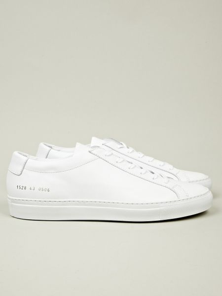 common projects original achilles low in white for men lyst