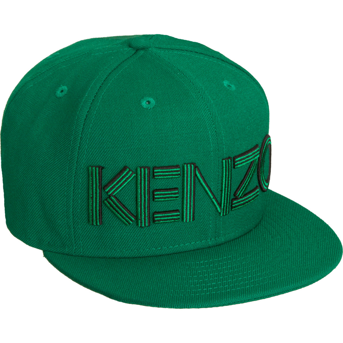 KENZO Embroidered Hat in Green for Men - Lyst 58f3a57578d