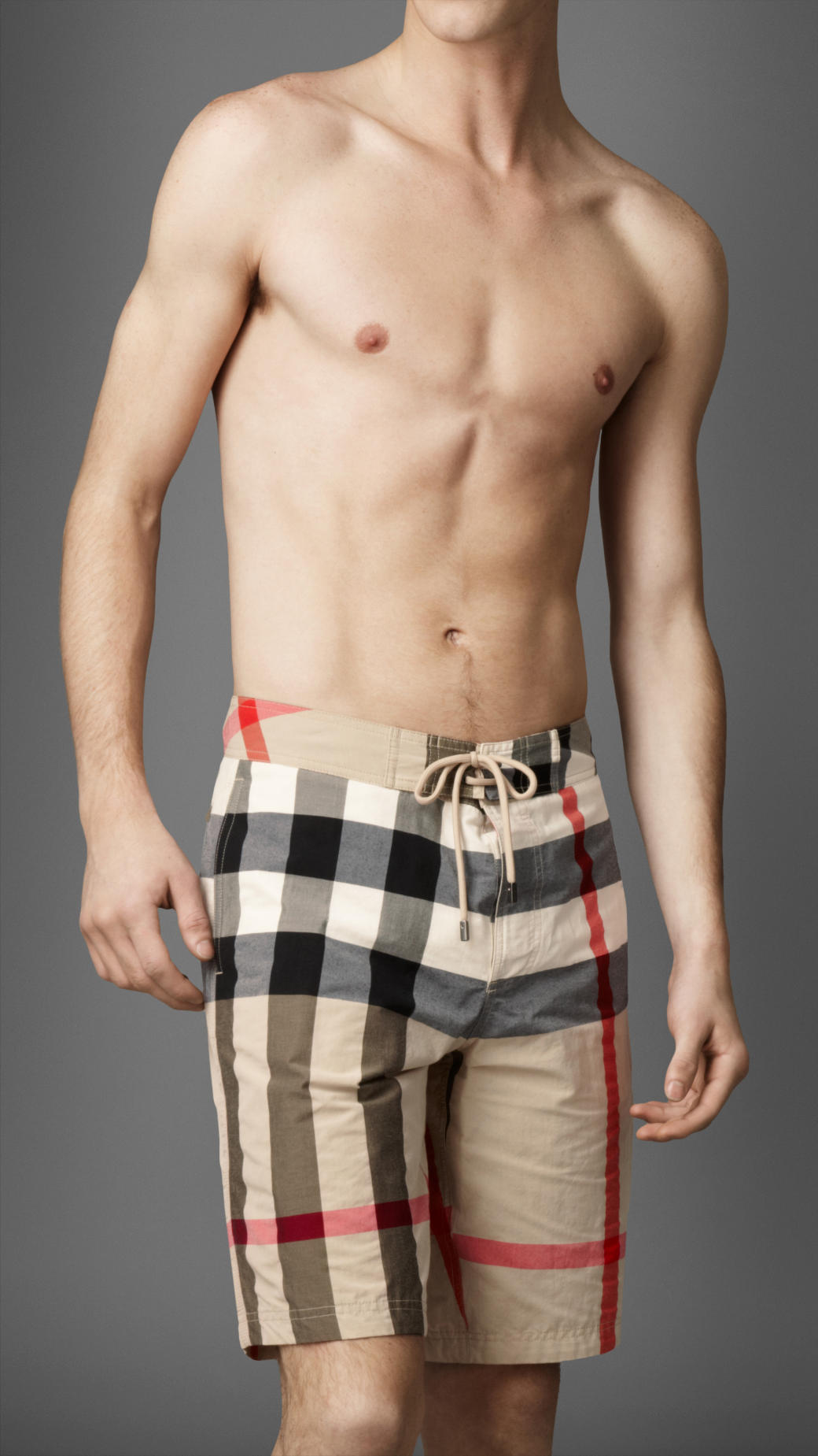 Burberry New Classic Mens Check Swimming Shorts Product