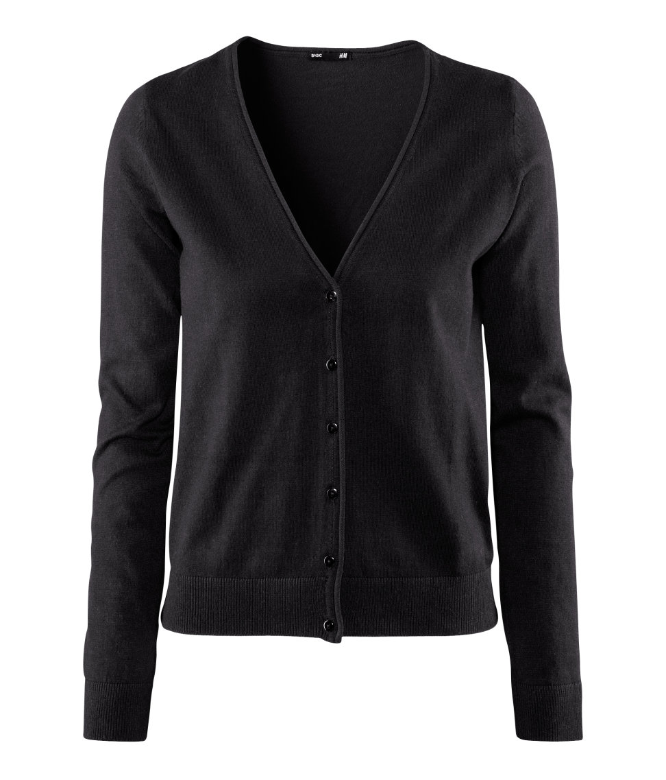 Black Cardigan H And M