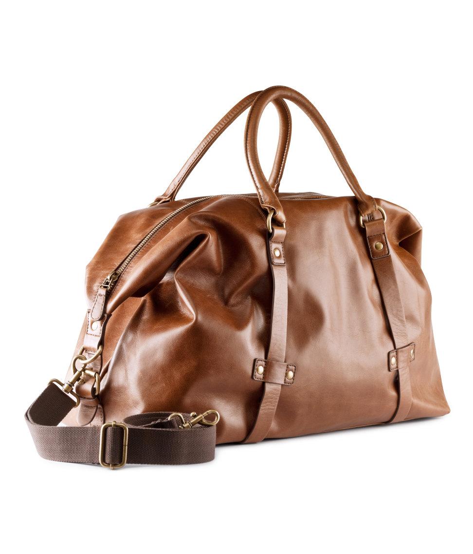 H Amp M Bag In Brown For Men Lyst