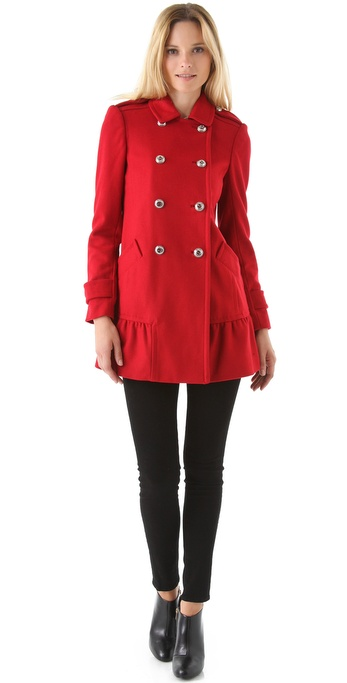 Find red ruffle jacket at ShopStyle. Shop the latest collection of red ruffle jacket from the most popular stores - all in one place.
