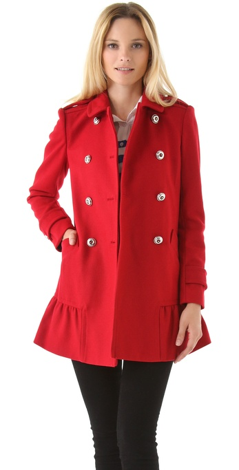 This is a sheer nude red coat. It has huge red organza frills embellished with gold accented lace in. $ Choose Options. CHARISMATICO Drag queen astounding resplendent ruffle organza coat. This ruffle drag coat brings out the true extravaganza of a queen. The white shiny organza material. $ Choose Options.