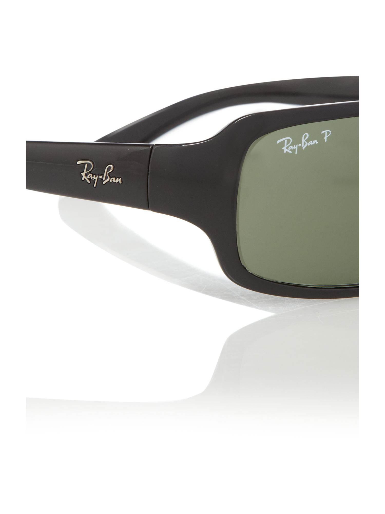Mens Sunglasses Ray Ban  ray ban mens black sunglasses in black for men lyst