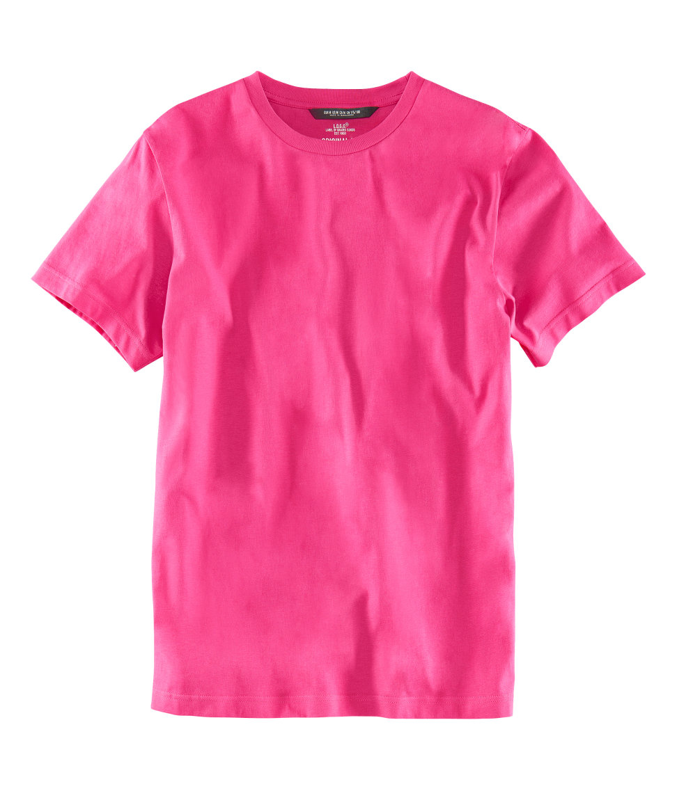 H M T Shirt In Pink For Men Lyst