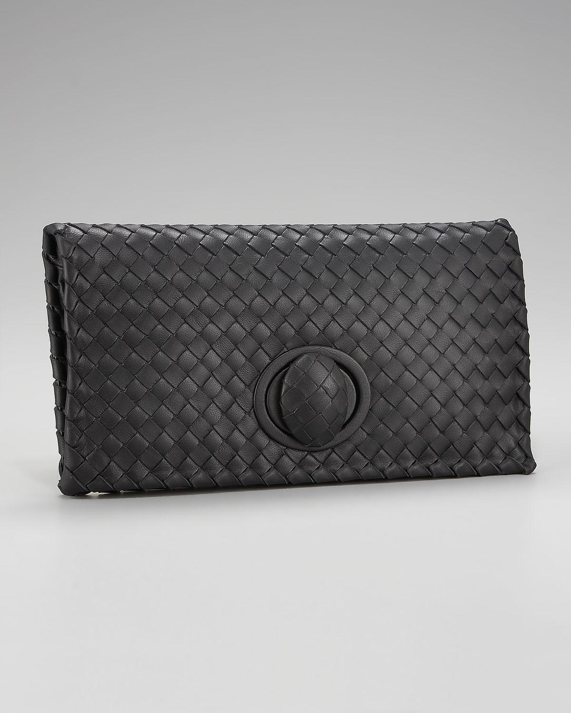 Bottega Veneta Intrecciato Leather Knot Clutch | Review ...