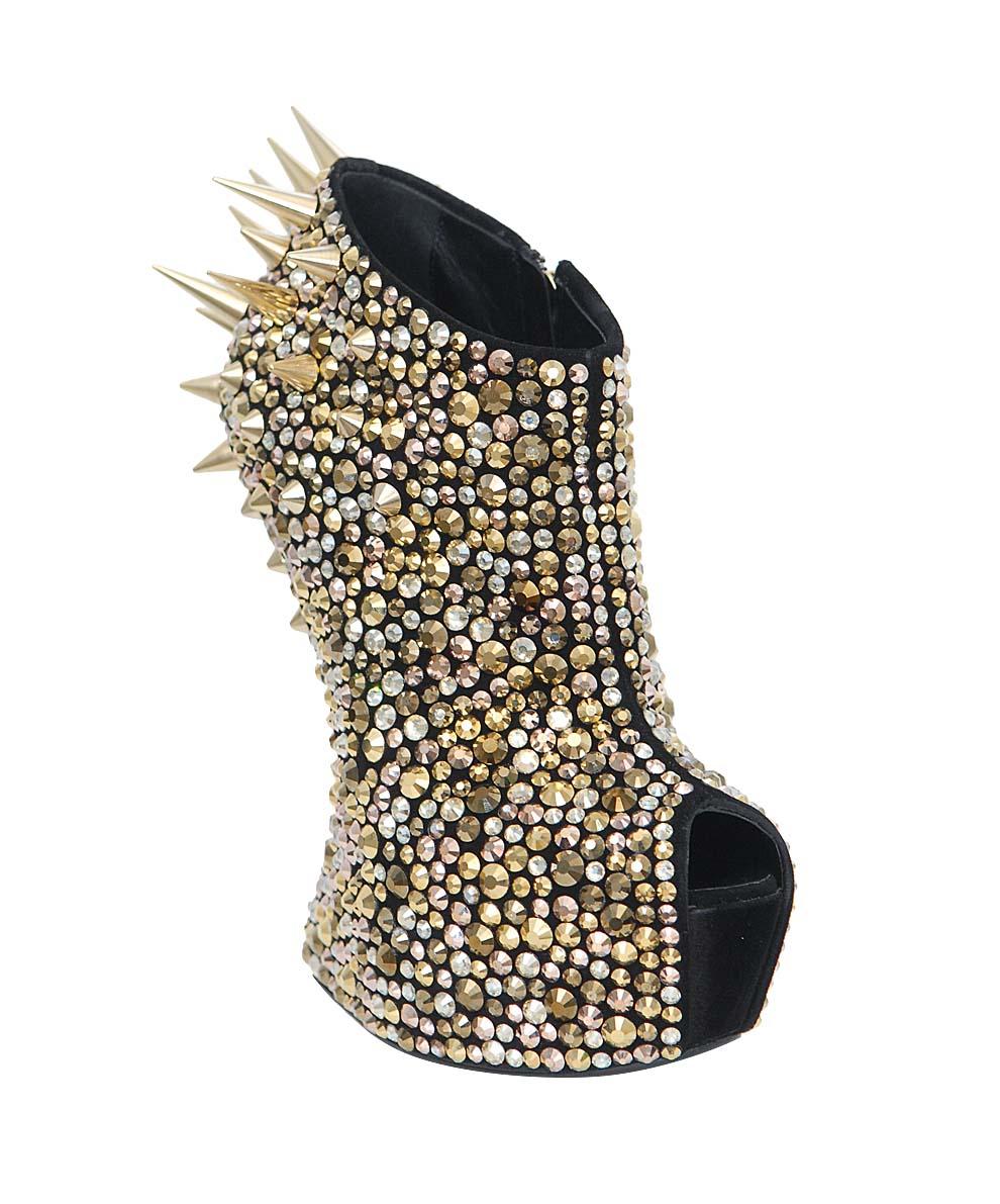 Giuseppe Zanotti Wedge Sandals In Gold Lyst