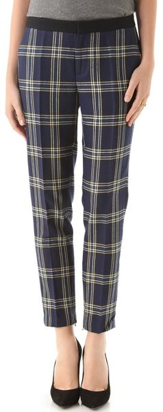 Juicy Couture Eton Plaid Pants - Lyst