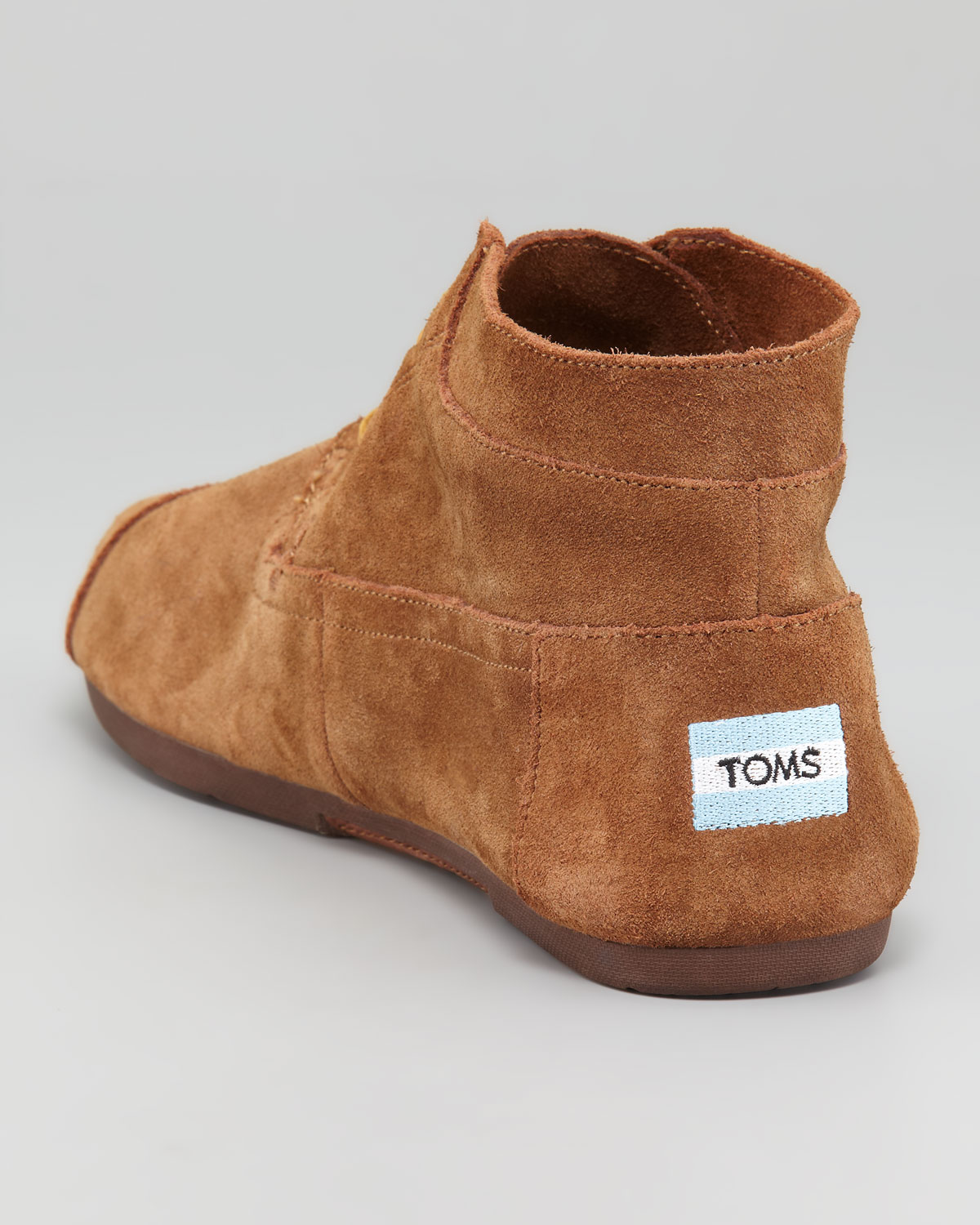 89dc618d523 Toms Suede Chukka Boot in Brown for Men