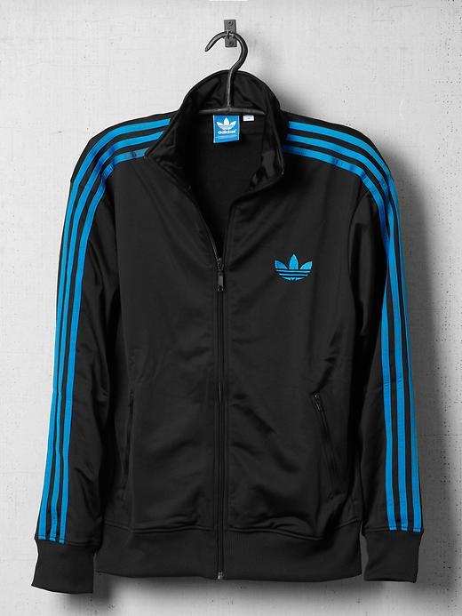 Adidas Jacket Black Blue