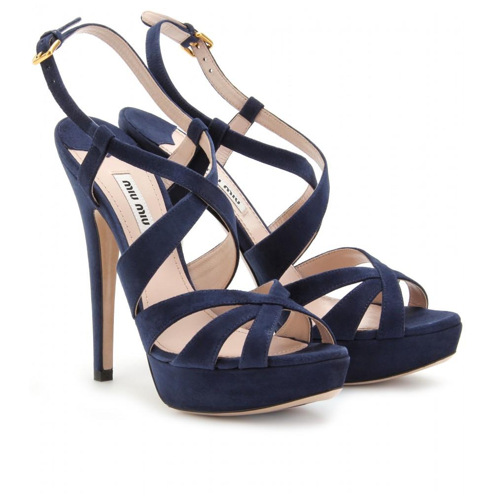 Navy Womens Heels