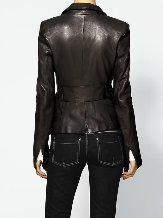 Fitted leather jacket sale – Novelties of modern fashion photo blog