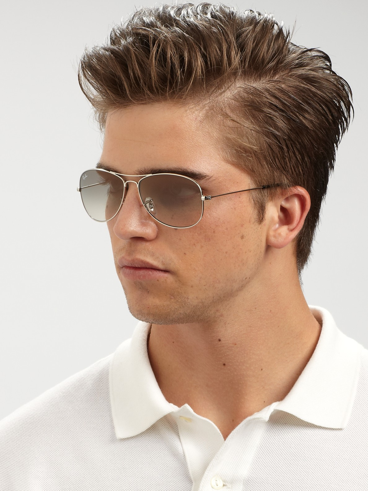 Men's Aviator Sunglasses. From the traditional teardrop to the more modern square shape, aviators are one of the most versatile sunglass styles. The choice of lens types and colors, along with options in frame material and width give you the widest selection of aviator frames to shop.