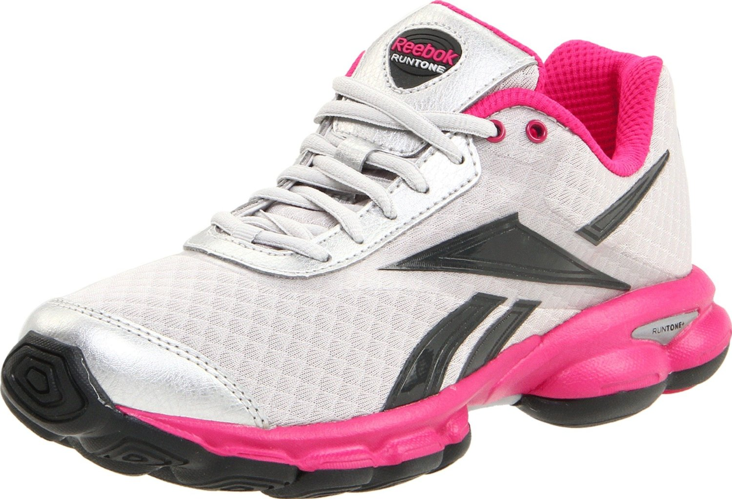 reebok reebok womens runtone express running shoe in pink