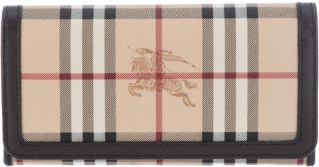 Burberry Check Purse in Beige (nude)