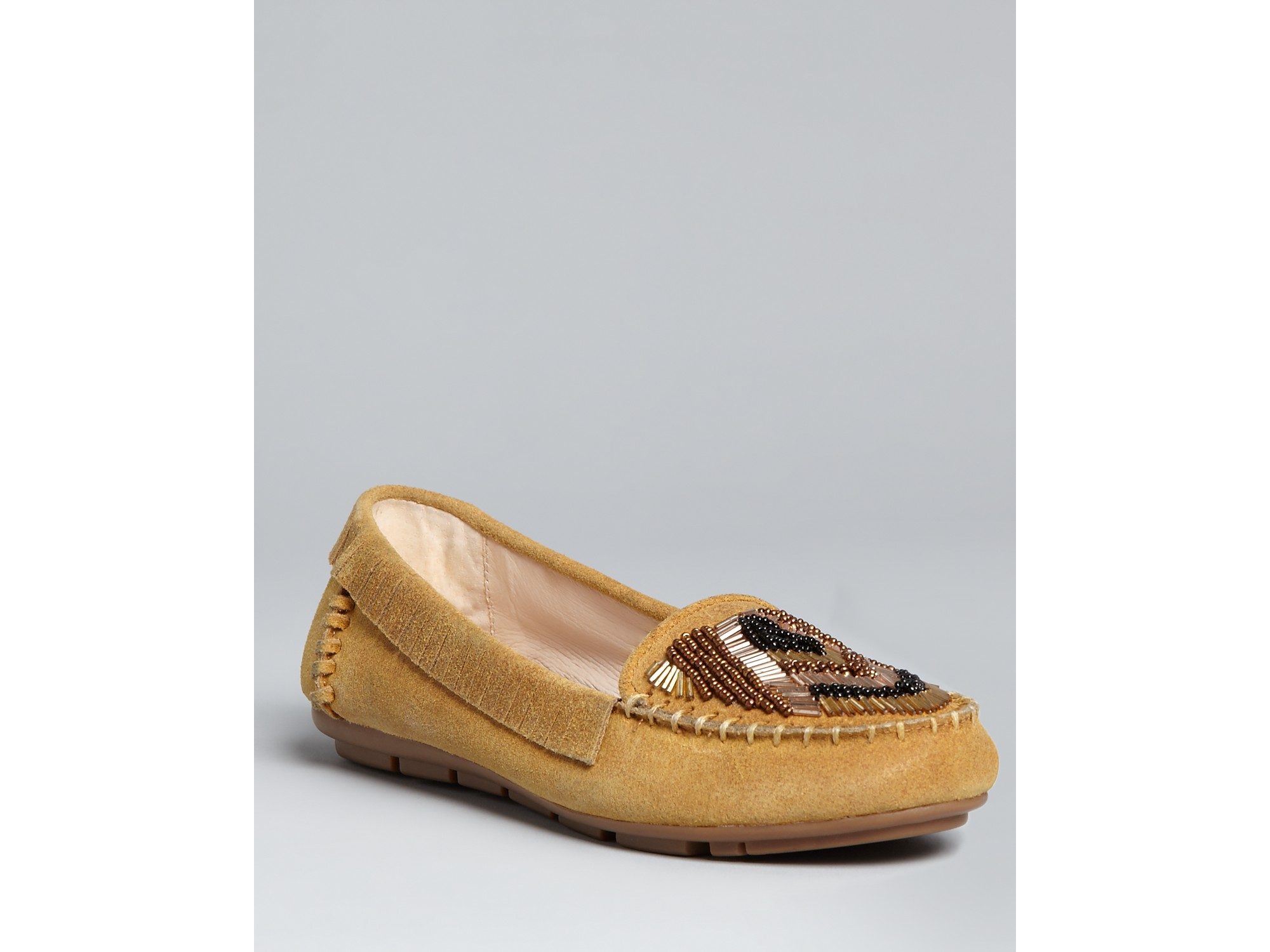 House of Harlow Bronze Leather Flats Loafers Moccasins Studded Shoes. Pre-Owned. $ or Best Offer House of Harlow, Silver, Kail Embossed Snake Driving Moccasin, Sz New (Other) House Of Harlow Sillia Black Suede Over the .