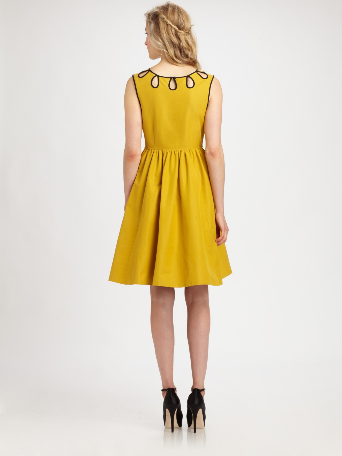 Kate Spade Rainey Dress In Yellow Lyst