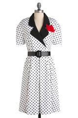 ModCloth Lets Go Retro Dress