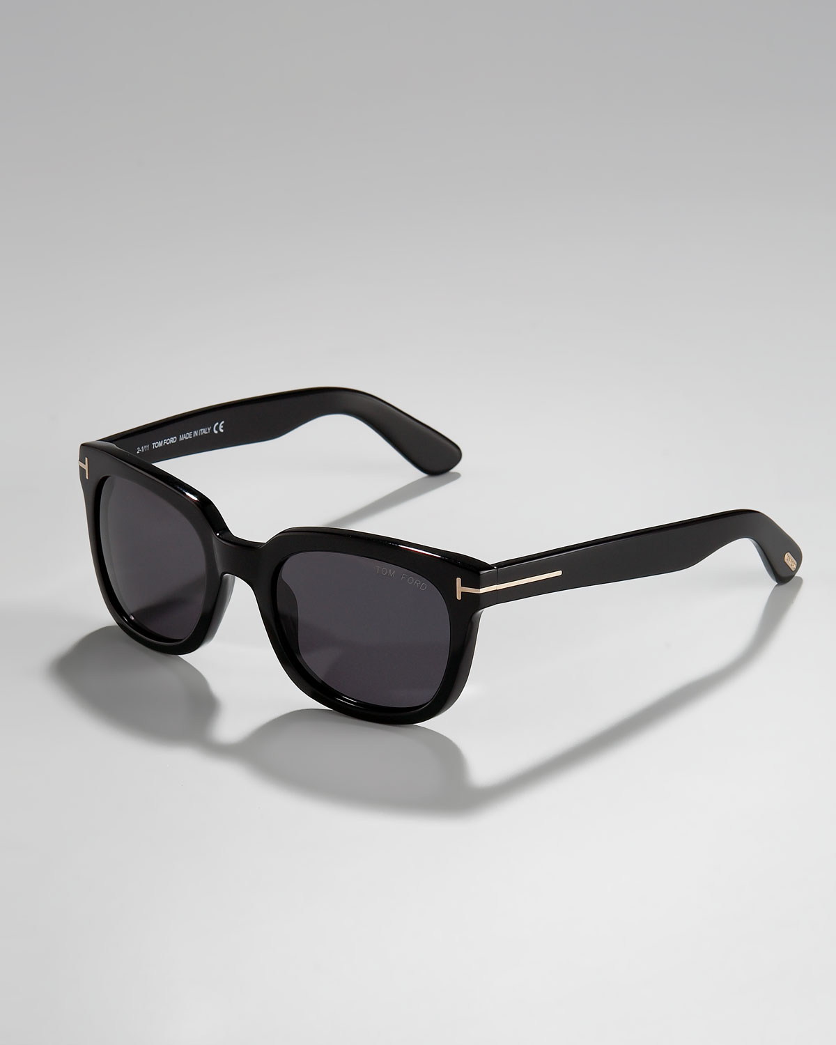 Tom Ford Campbell Plastic Sunglasses In Black For Men Lyst