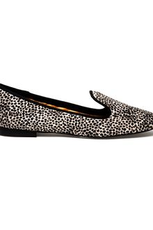 Avec Moderation Pon Pon Calf Hair Dress Slippers - Lyst