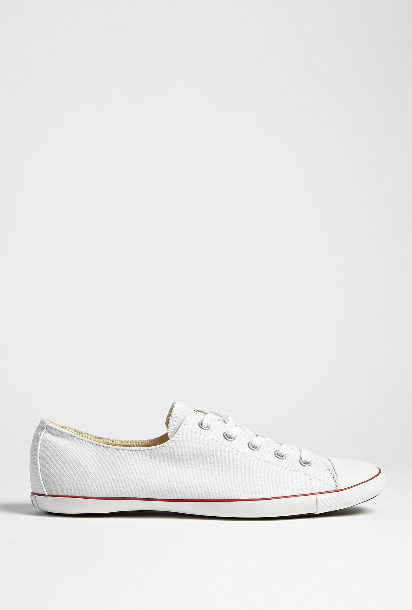 converse white all star light plimsolls in white lyst. Black Bedroom Furniture Sets. Home Design Ideas