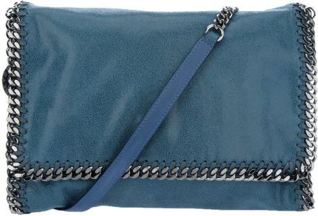 Stella Mccartney Falabella Shoulder Bag in Blue