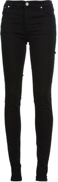 Victoria Beckham Darknight Skinny Jean in Black