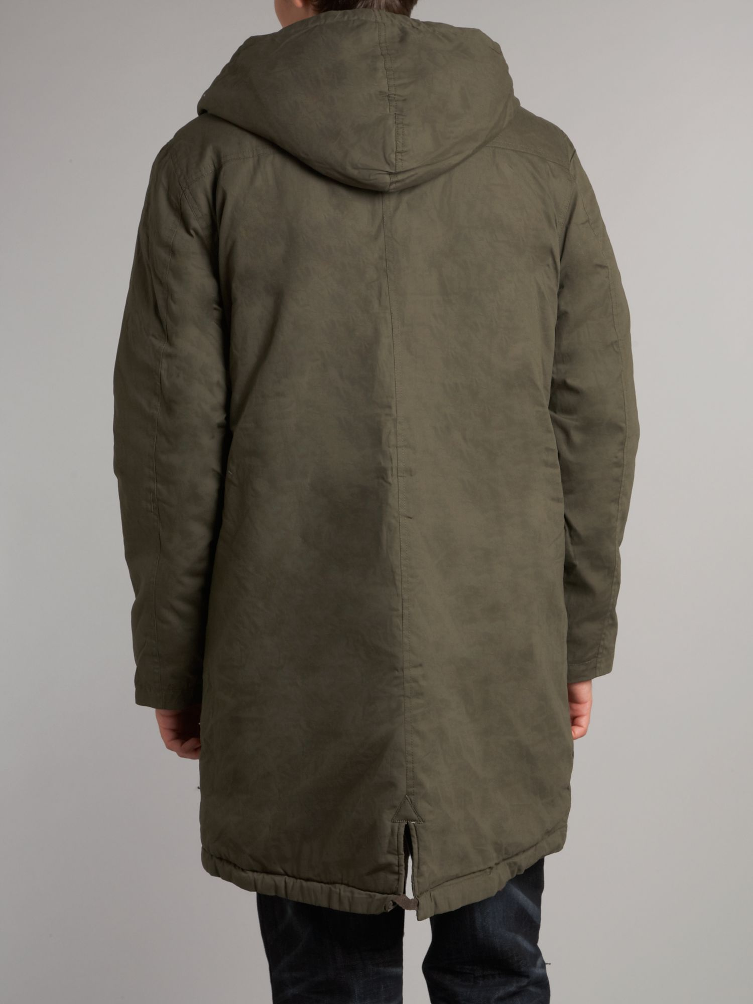 Cheap monday Parka Jacket in Green for Men   Lyst
