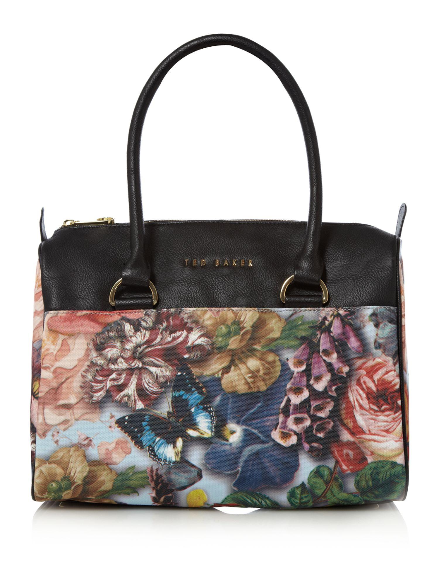 07c992196 Ted Baker Floral Bag On Sale