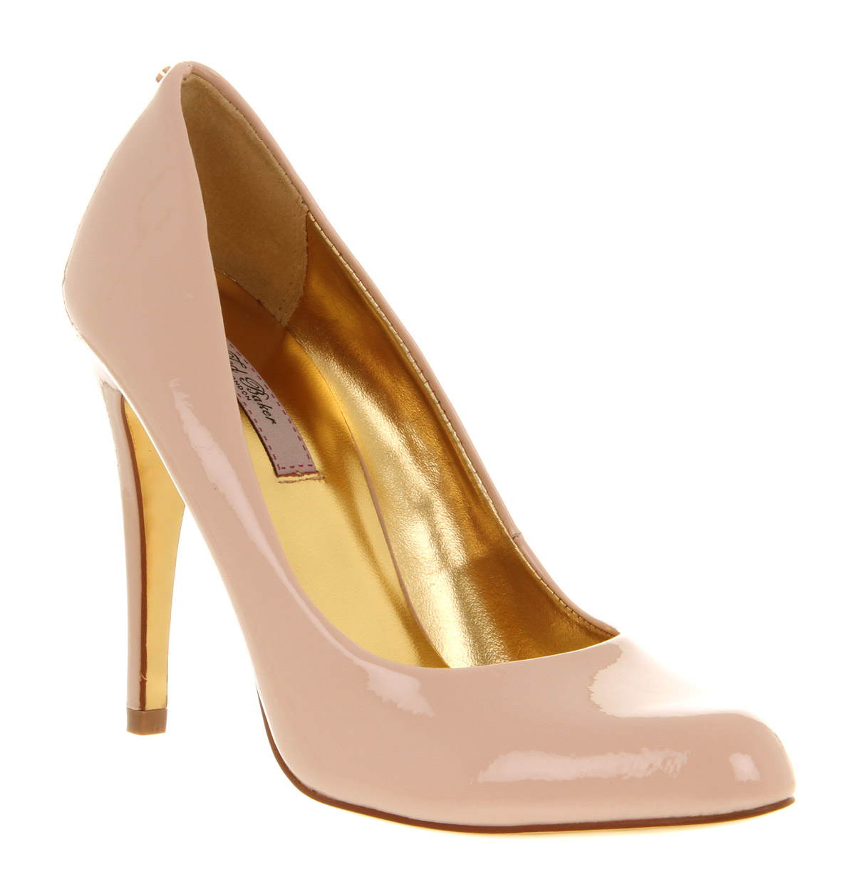 Lyst Ted Baker Jaxine 2 Court Shoe Nude Patent Leather