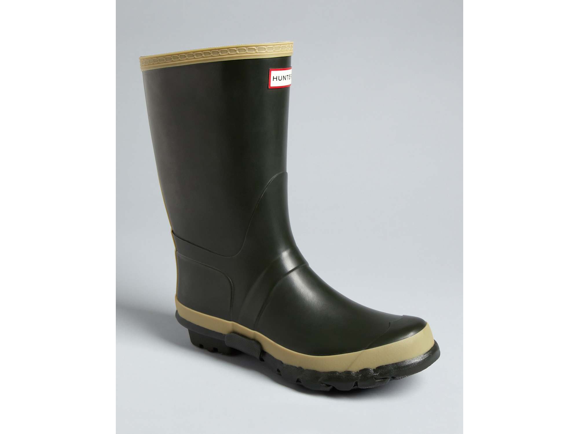 Hunter Garden Rain Boots in Green for Men | Lyst