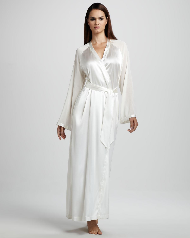 Long White Robes