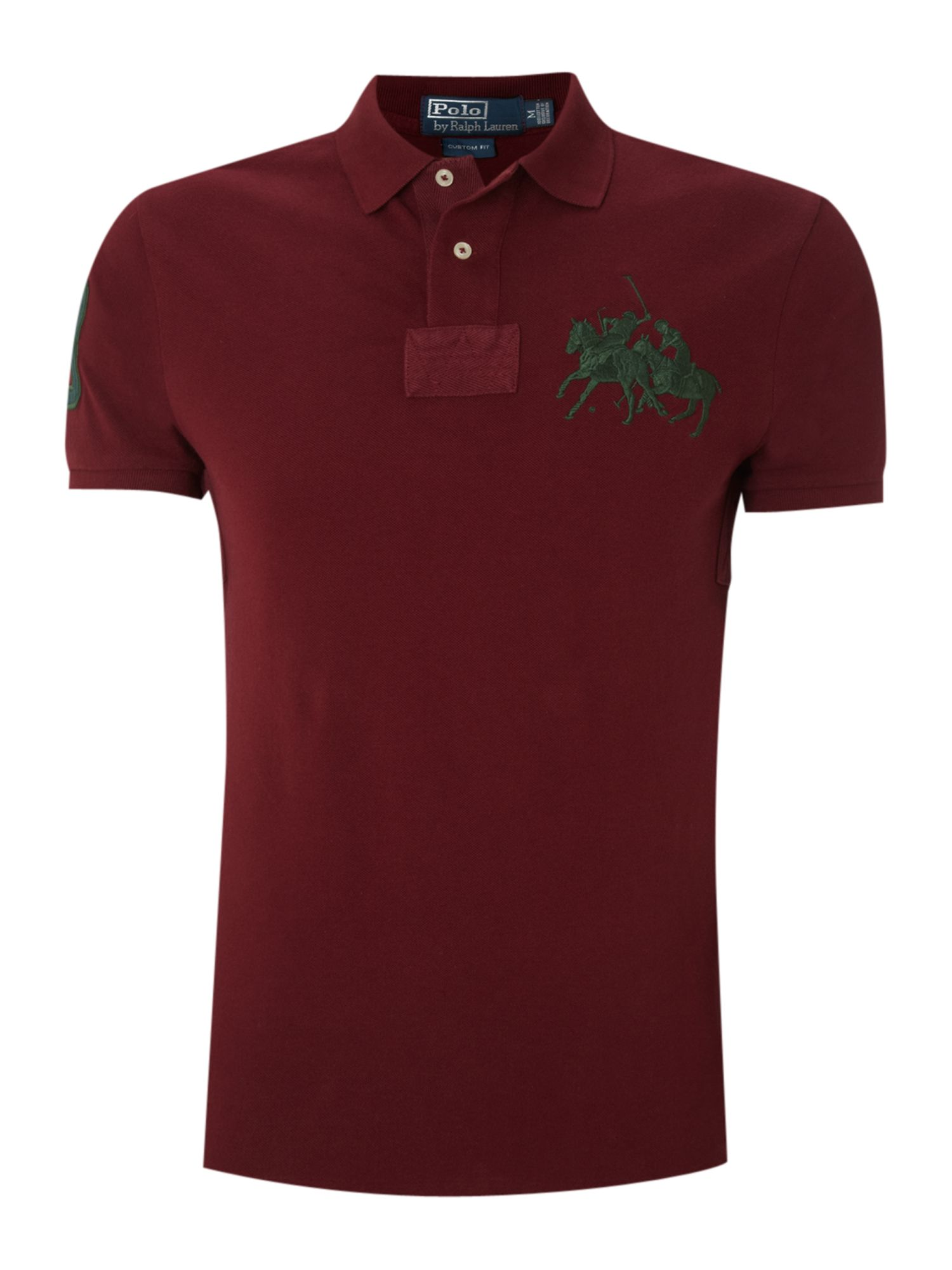 Polo Ralph Lauren Slim Fitted Dual Match Polo Shirt in Red ...