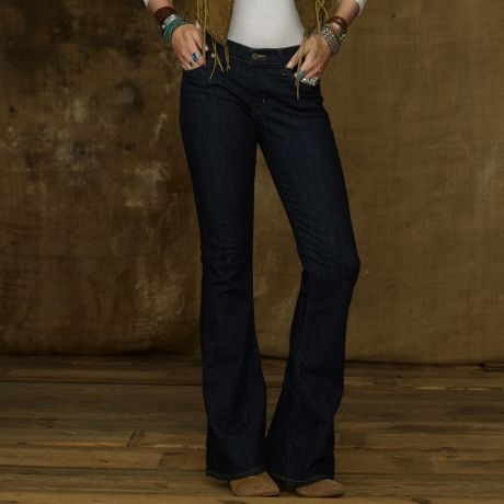 Ralph Lauren Flare Jean in Blue (afton wash)