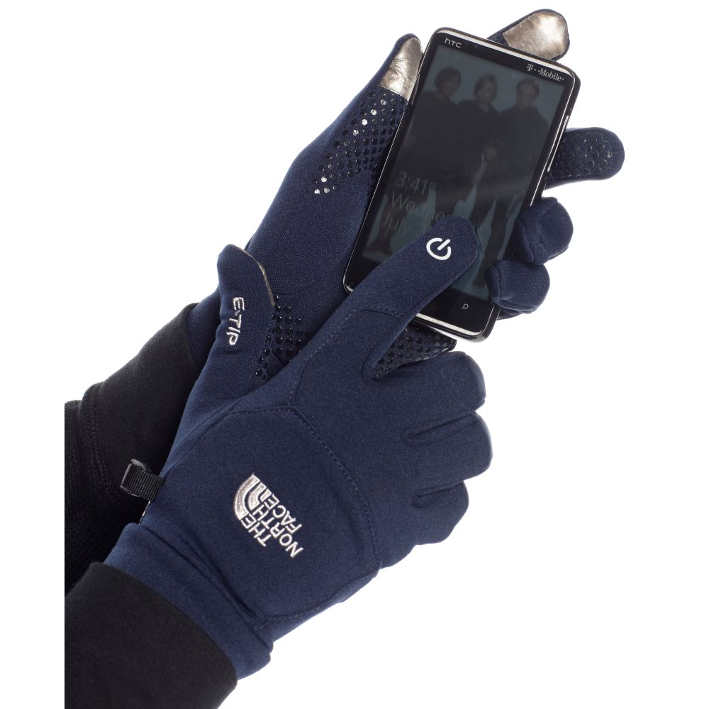 The North Face Etip Gloves In Blue For Men Lyst