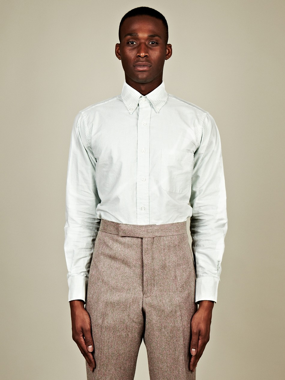 Thom Browne Thom Browne Mens Classic Button Down Shirt In