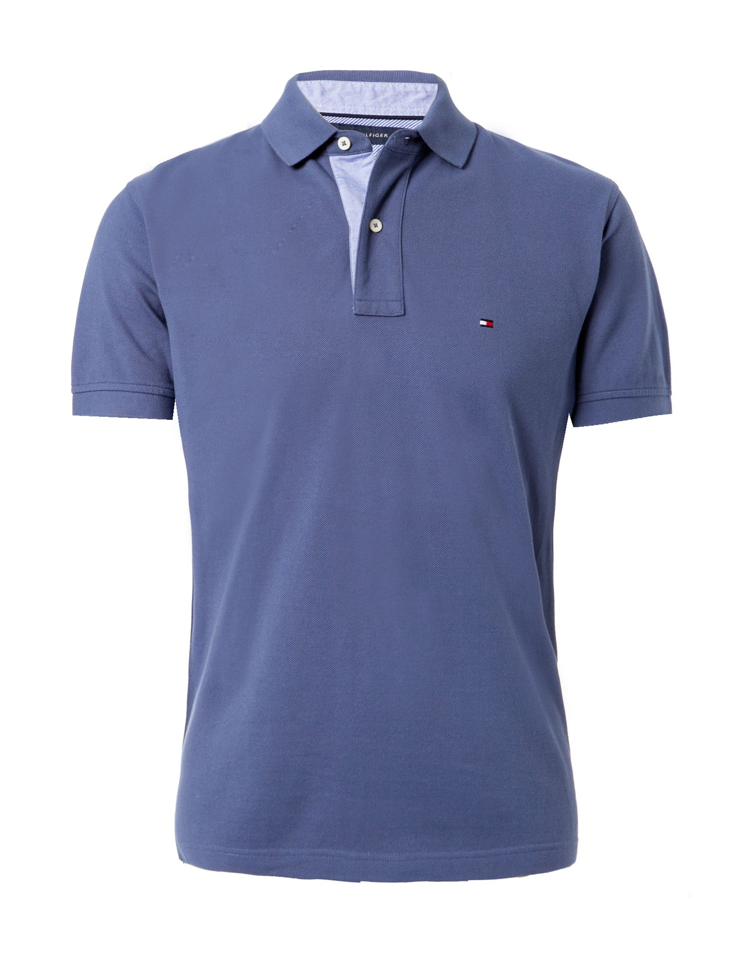 tommy hilfiger classic tommy polo shirt in blue for men indigo lyst. Black Bedroom Furniture Sets. Home Design Ideas