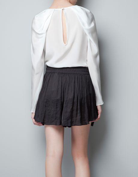 Zara Open Sleeve Blouse 54