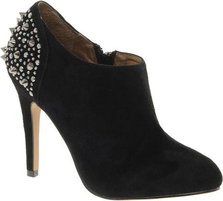 aldo frosacc studded shoe boots in black lyst