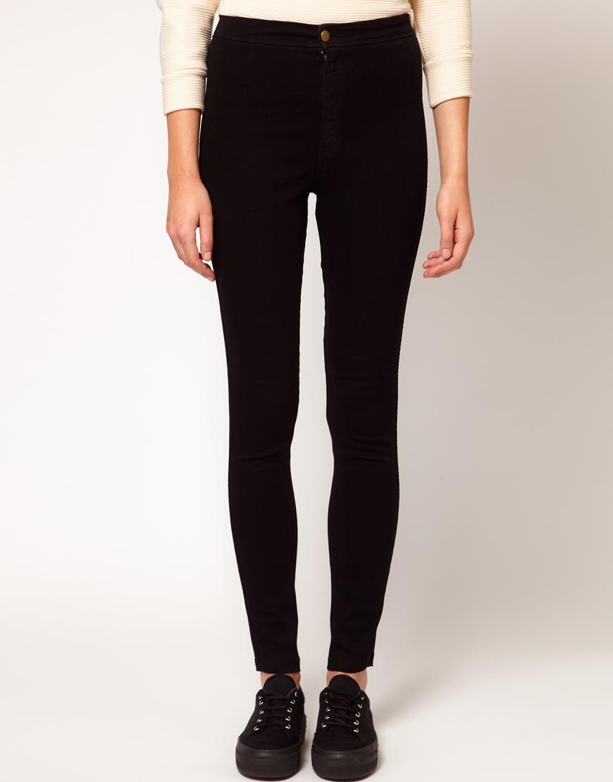 American apparel Easy Jean in Black  Lyst
