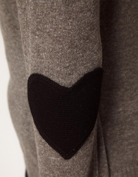 Elbow Patch Sweater Womens