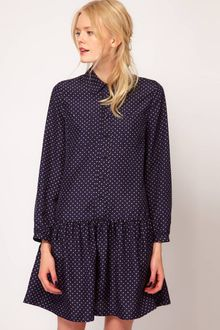 Boutique By Jaeger Billie Spot Shirt Dress - Lyst