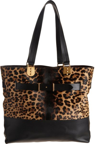 Christian Louboutin Sybil Reversible Tote in Animal (leopard)