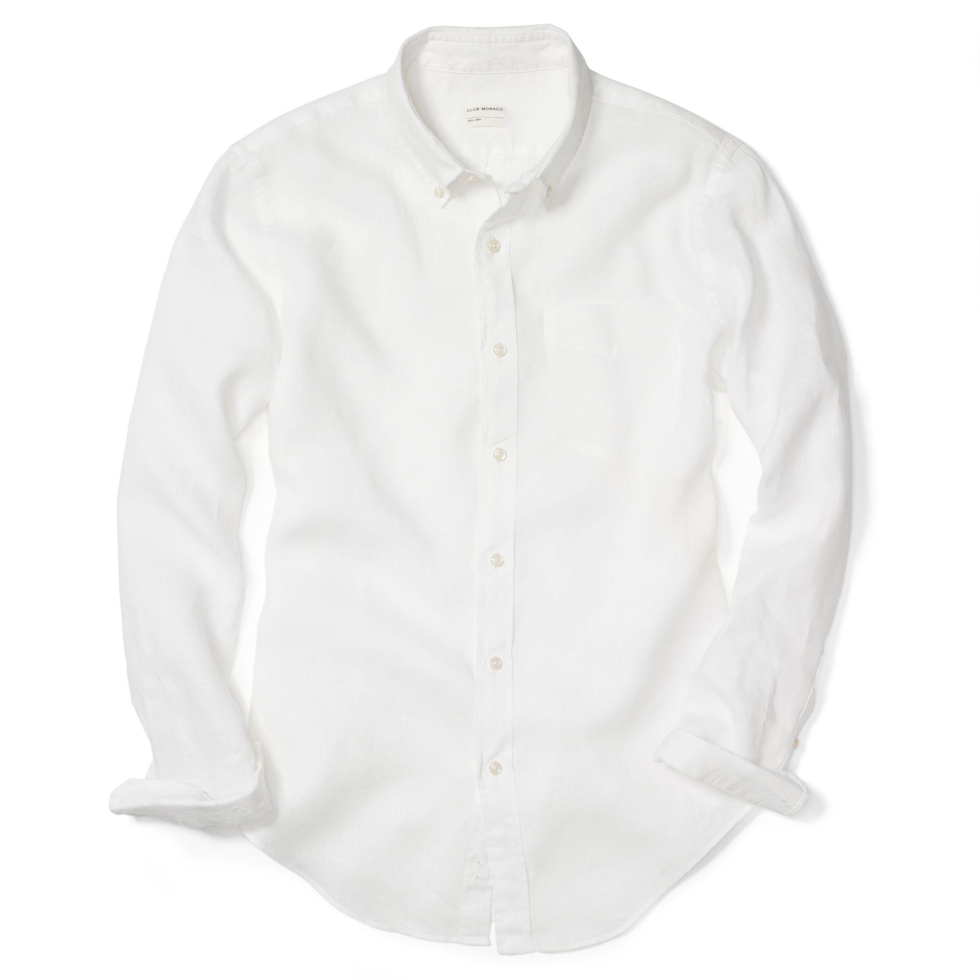 Banana Republic Mens Linen Shirt