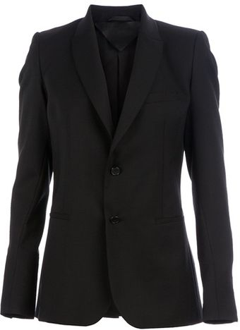 Gustavo Lins Single Breasted Blazer - Lyst